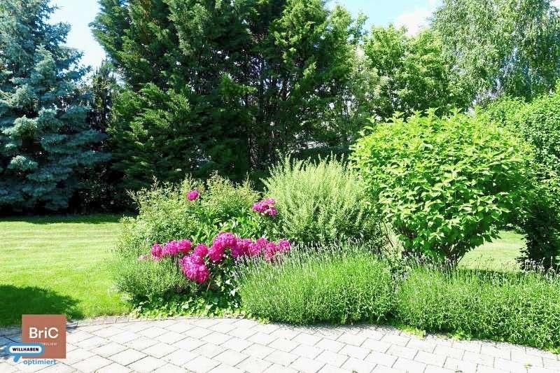 Schöne Ziersträucher & gepflegter Garten