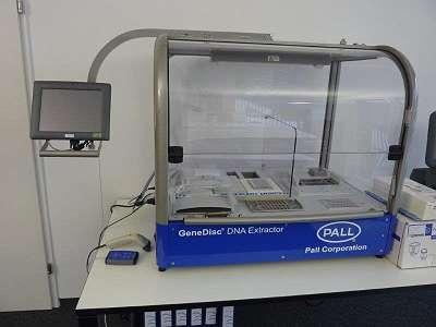 Pall Gene Disc DNA Extractor, für PCR Labor