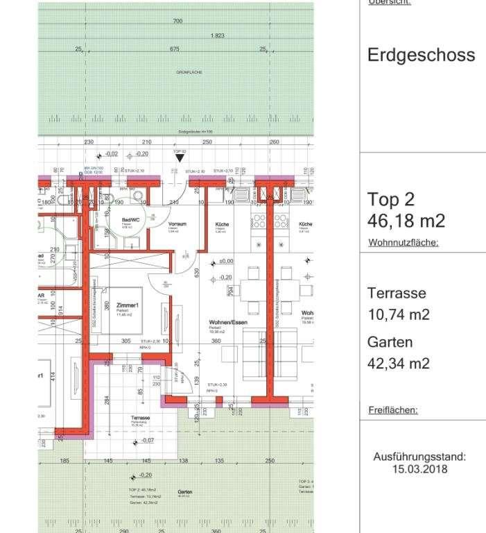 Grundrissplan Top 2