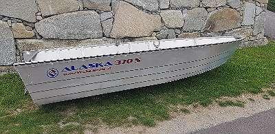 Aluboot Aluminiumboot Aluminium Boot Alaska Boot 370 S Angelboot Ruderboot Motorboot Fischerboot geschweißt