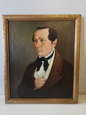 Biedermeier- Herrenportrait