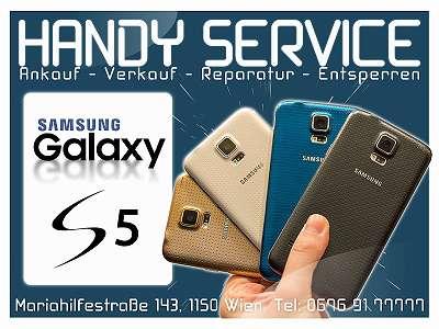 Samsung Galaxy S5 in Schwarz/ NEUWERTIG/ Frei Für Alle Simkarten/ Mit ZUBEHÖR