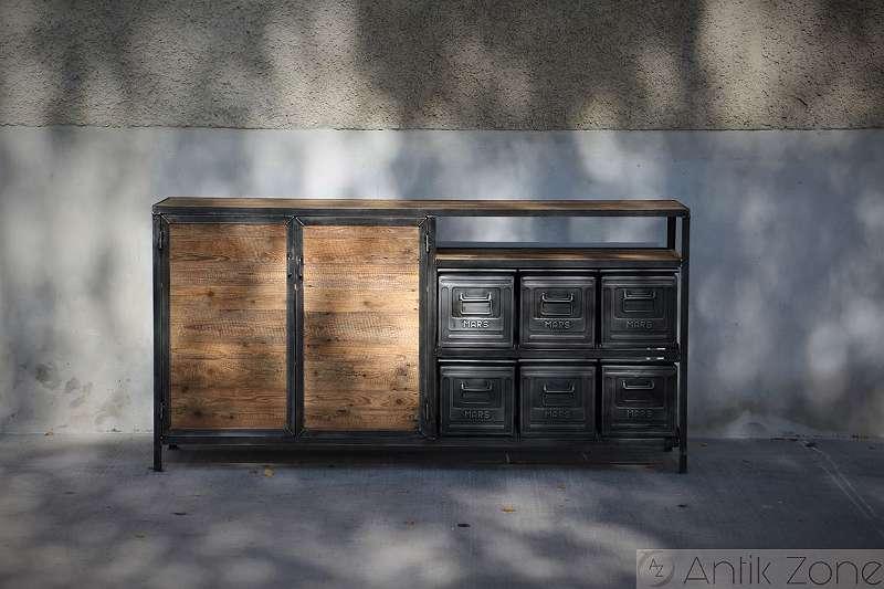 Bild 1 von 8 - Sideboard Industriedesign