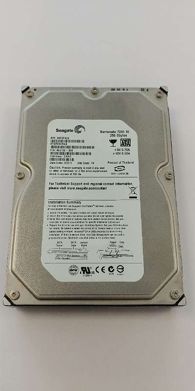 "Seagate Barracuda ST3250820AS 250GB 7200rpm 3,5"" HDD Festplatte + GARANTIE"