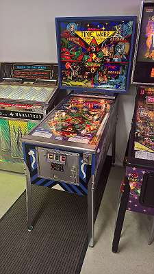 Flipper Williams Time Warp Pinball