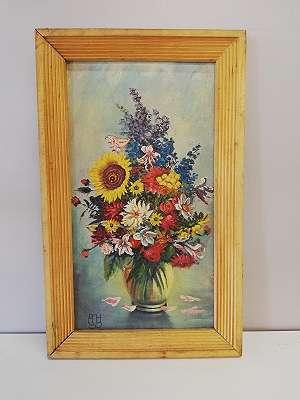Blumenstilleben mit Sonnenblume