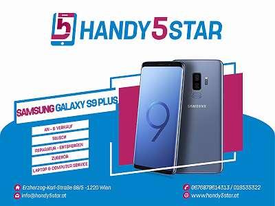 Samsung Galaxy S9 Plus 64GB gebraucht Werksoffen in Schwarz mit Zubehör + Garantie!