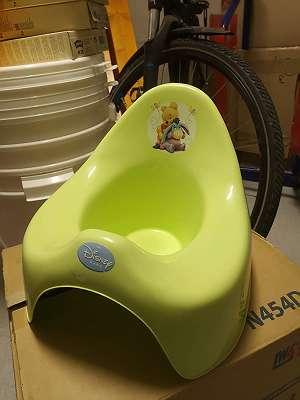 Topferl Winnie Pooh grün