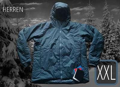 ARCTERYX Atom AR leistungsfähigem Wetterschutz 542g Kunstfaserjacke Herren Gr. XXL - NeptunGrau