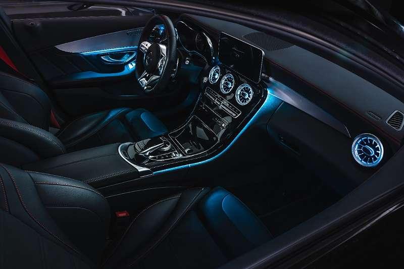 NEU Ambientebeleuchtung nachrüsten Mercedes C Klasse W205 ...