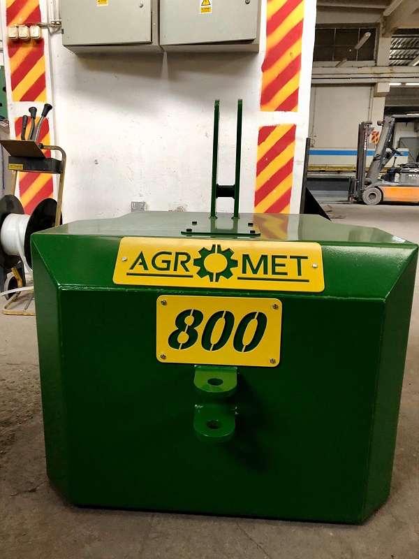 AGROMET - Multi Frontgewicht Heckgewicht 400/1200 kg in Farben Fendt-Steyr-John Deere-New Holland-Deut