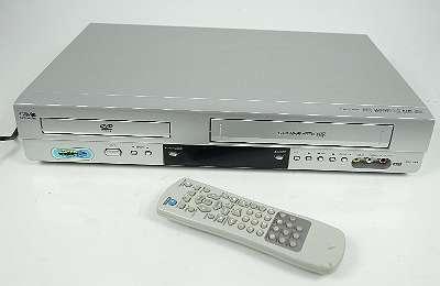 SILVA SCHNEIDER DVC 3065 6-HEAD VHS VIDEORECORDER / DVD PLAYER + FERNBEDIENUNG KOMBIGERÄT