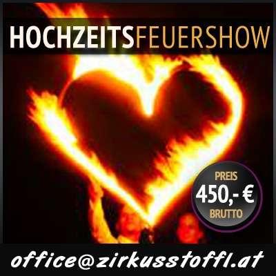 Feuershow Hochzeit Wien Niederösterreich