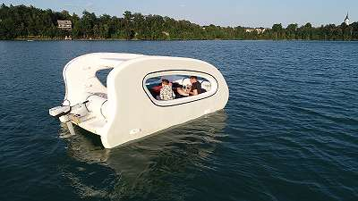 Luftboot Sea Trailer 450 Hovercraft