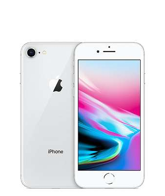 IPHONE 8 64GB SILVER WERKSOFFEN REFURBISHED WIE NEU
