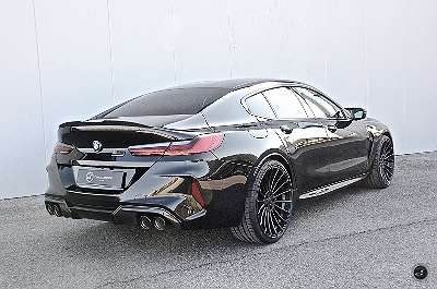 BMW M8 Grand Coupe mit Hamann Felgen