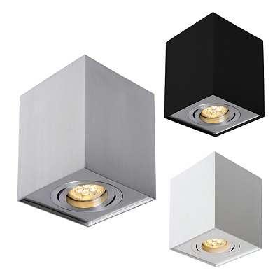LED GU10 Aufputz Aluminium