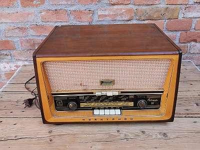 Radio-Plattenspieler
