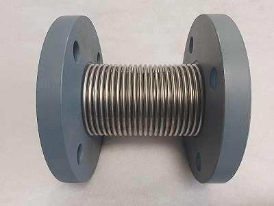 Edelstahlkompensator, Meko BF41 DN50, Berghöfer, neu