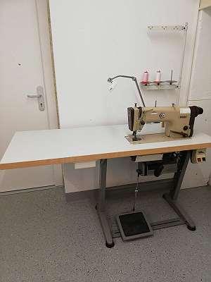 Industrienähmaschine Pfaff 487/489 Schnellnäher mit vergrößerter Tischplatte