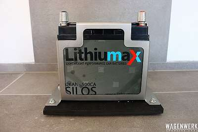 Lithiumax RACE5 | 1.8 LiFePO4 Lightweight Autobatterie 26AH 500CA