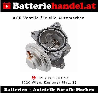 (13) AGR Ventil Audi/ VW/ SEAT/ SKODA/ CHRYSLER/ DODGE/ JEEP/ MITSUBISHI