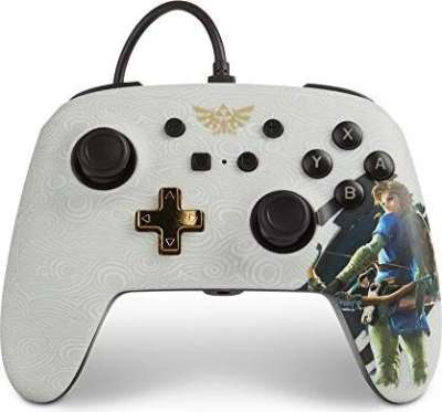 PowerA Enhanced Wired Nintendo Switch Controller - The Legend Of Zelda Link