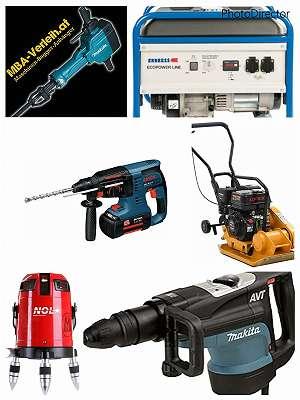 Verleih Stemmhammer, Bohrhammer, Abbruchhammer, Werkzeugverleih, Maschinenverleih - TB216 Minibagger Verleih