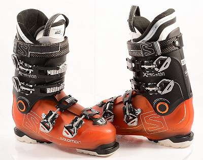 EU 40,41,42,44,45,46,47 Skischuhe SALOMON X PRO R100 orange