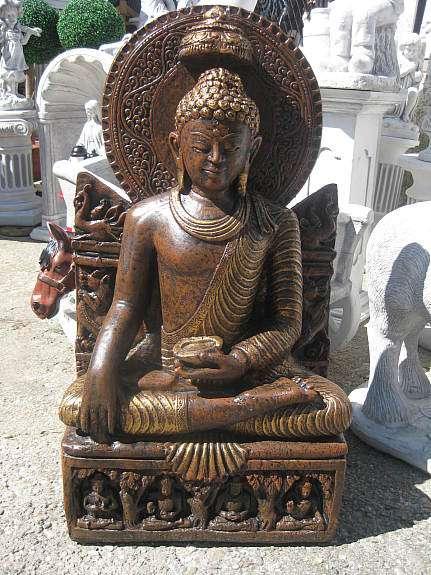 Chinesische lampe buddha steinfiguren teich figuren japanischer garten neu 20 3441 - Steinfiguren buddha garten ...