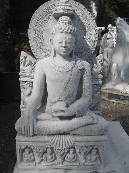 chinesische lampe buddha steinfiguren teich figuren. Black Bedroom Furniture Sets. Home Design Ideas