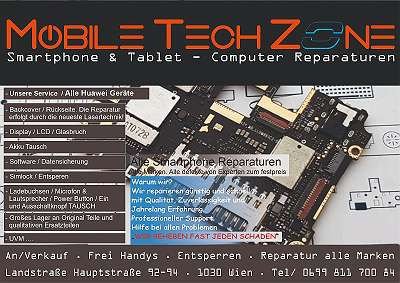 Huawei LCD Display + Touch Reparatur / QUALITÄT / GARANTIE / Express Service von Experten Ab 69, - ?