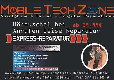 SMARTPHONE REPARATUR EPRESS SERVICE SOFORT AKKU / DISPLAY / LADECONNECTOR / HÖRMUSCHEL / MIKROFON / KAMERA / DIAGNOSE / SOFTWARE ,... von EXPERTEN Ab 29, - ?