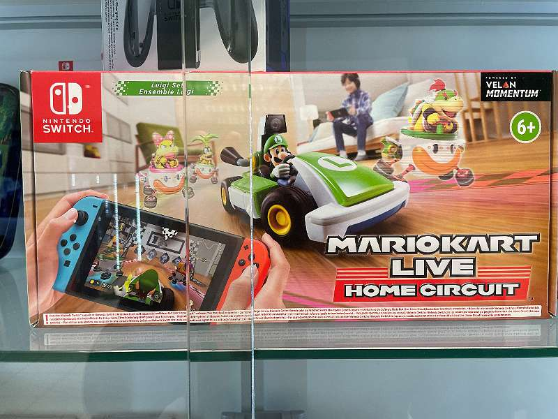 Mario Kart LIVE Home Curcuit Luigi Edition Switch