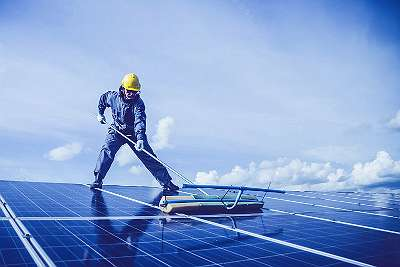 Solar Anlage reinigen - Stromertrag erhöhen ! FRÜHLINGSAKTION !