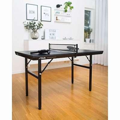 STIGA Mini Tischtennistisch Black Edition