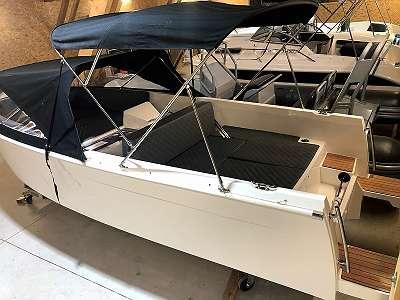 Elektromotorboot 4,0 kw Torqeedo Narma 560 S Tender Lagernd