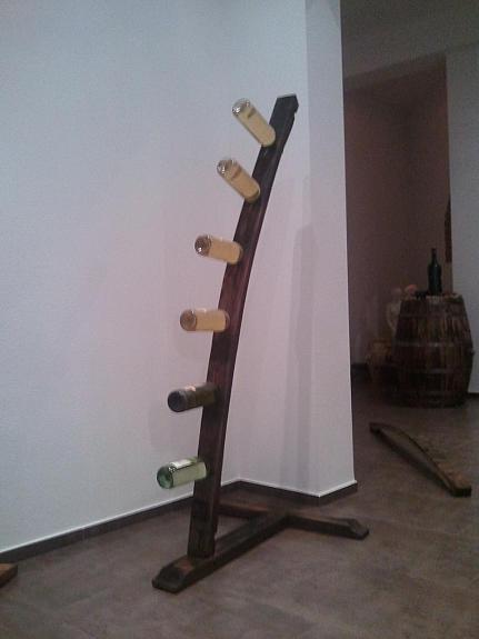 195 cm weinregal weinhalter weinst nder flaschenhalter 5 6 fl 109 4160 aigen im. Black Bedroom Furniture Sets. Home Design Ideas