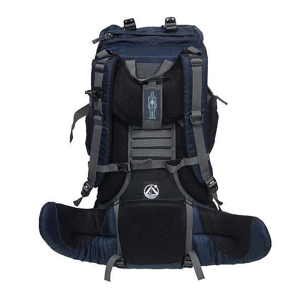 Rückenansicht mit Tragestem Outdoorer Tour Bag 50