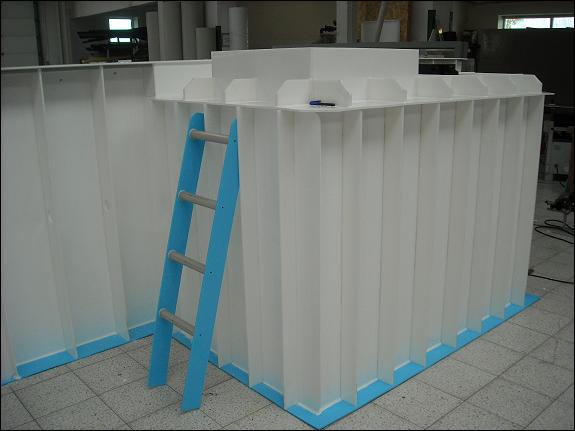 sanierung von pool aus kunststoff polypropylenpool schwimmbecken schwimmbad pool 650. Black Bedroom Furniture Sets. Home Design Ideas