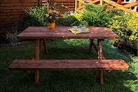 Gartengarnitur PICKNICK für 6 Personen