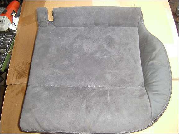 sitzbezug mit sitzkissen links hinten passat 3bg 3b leder alcantara anthrazit schaumstoff. Black Bedroom Furniture Sets. Home Design Ideas