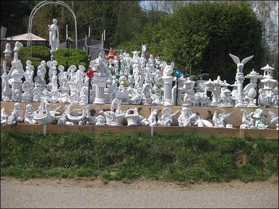 Gartenmobel Teak Mit Edelstahl :  Steinbank gebogen Gartenbank Möbel Gartenmöbel Steinguss massiv neu