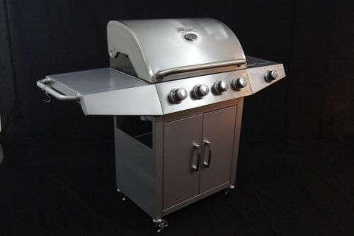 edelstahl gasgrill gas grill grillwagen barbecue bbq marke broil master 299 4882 oberwang. Black Bedroom Furniture Sets. Home Design Ideas