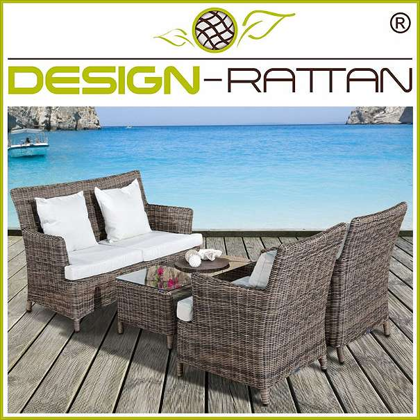 Rattan Lounge MENGWI Rundrattan by DesignRattan® BaliExklusiv