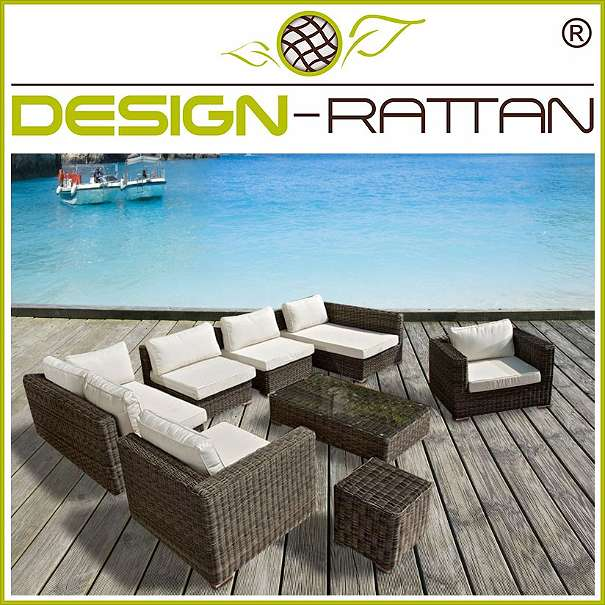 rattanlounge medan bali line grau meliert rundrattan 1010 wien willhaben. Black Bedroom Furniture Sets. Home Design Ideas