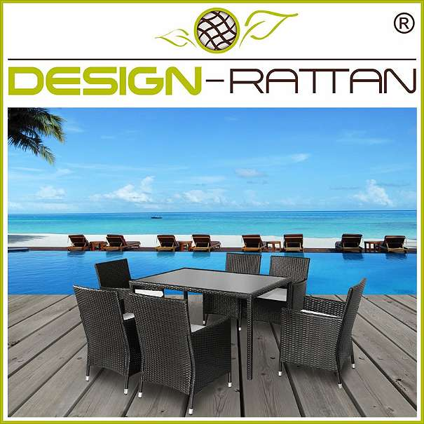 rattan essgruppe genova large 150x90cm 6 sessel 1 tisch 2 farben 499 1010 wien. Black Bedroom Furniture Sets. Home Design Ideas