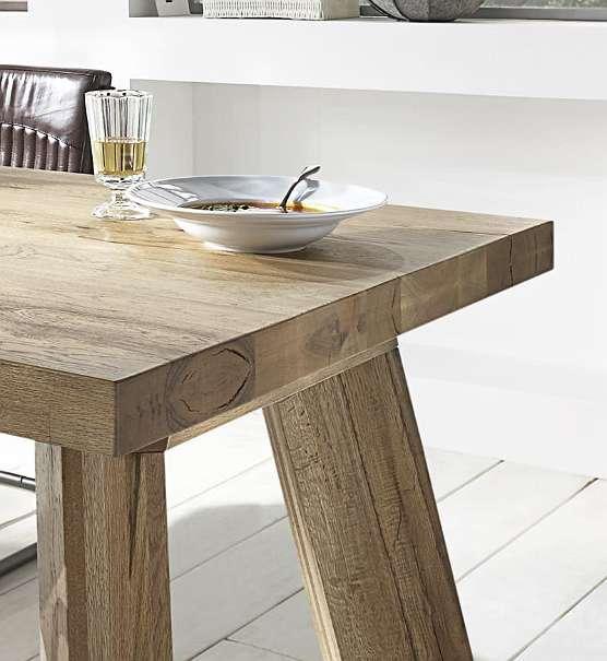 bodahl thor tisch in massiver balkeneiche esstisch 750. Black Bedroom Furniture Sets. Home Design Ideas