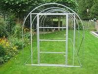 Rahmen mit Tür ideal für die Erstellung einer Voliere 5x2x2 m