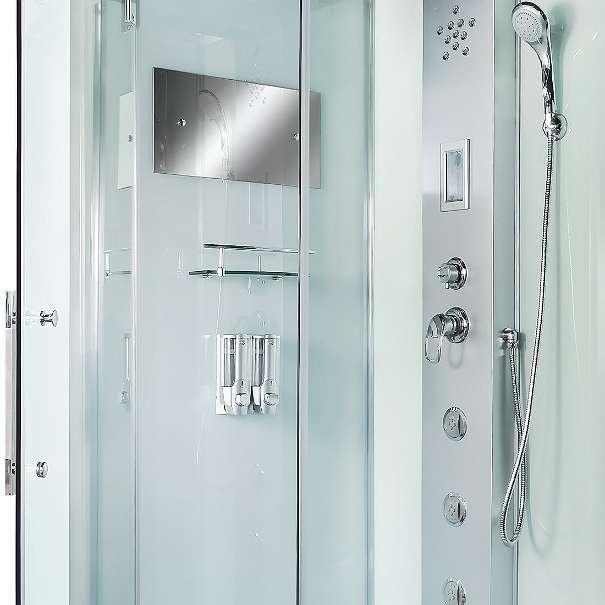 dusche duschtempel komplett duschkabine 90x90 6311 wildsch nau. Black Bedroom Furniture Sets. Home Design Ideas